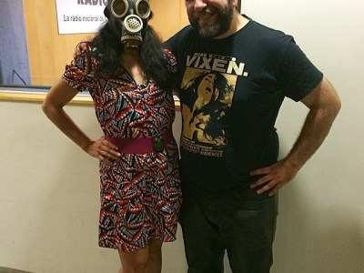Catalunya Ràdio   El crack Josep Lapidario m'ha posat la màscara després del programa ;))