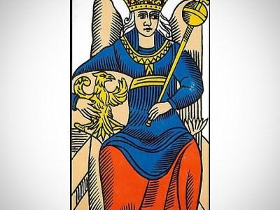 """La Emperatriz: """"Exenta de vejez y muerte, en un perpetuo orgasmo, bajo la esperanza y el miedo soy…"""""""