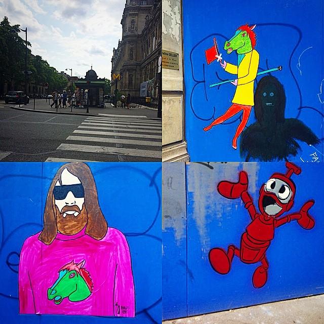grafittis en paris