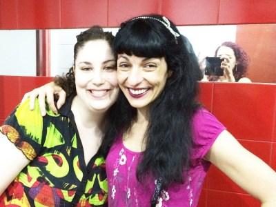 Fue un placer conocer ayer a esta lectora guapa de #sébuena :))