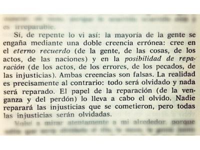"""El brutal fragmento de Kundera sobre el eterno retorno y la posibilidad de reparación. En """"La broma"""", 1967:"""