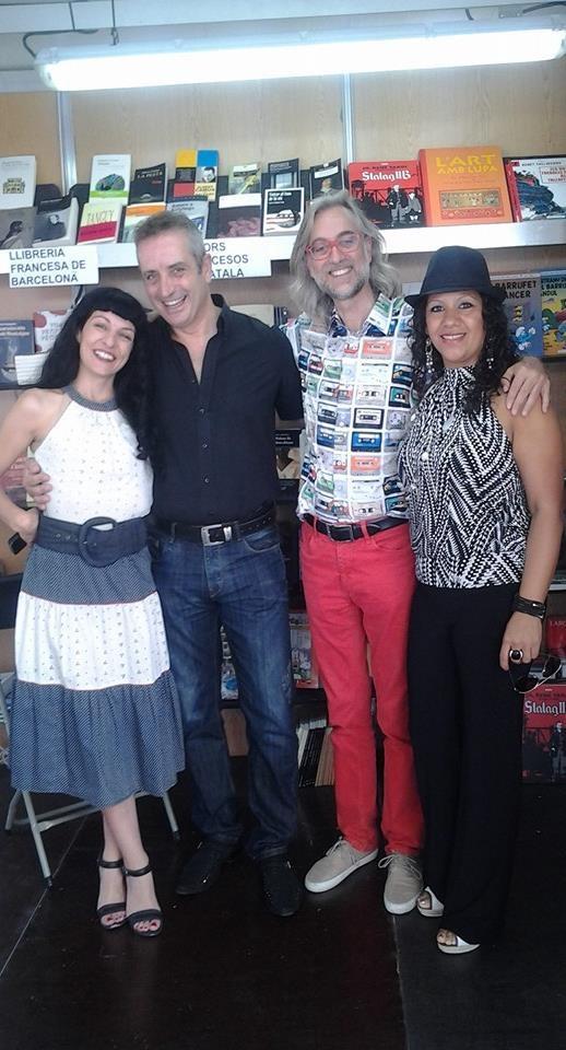 roser amills a la setmana del llibre en catala
