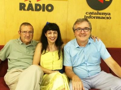 En directe, entre dues eminències, ara a #miliunanits de Catalunya Ràdio !!!