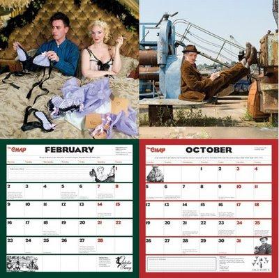 calendario retro