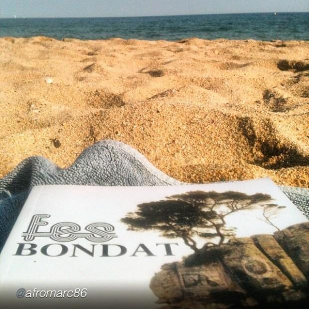 fes bondat de roser amills en la playa foto de un lector