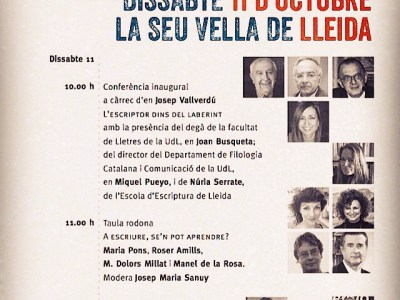 Ja hi som tots al @turoseuvella: si ets a Lleida, vine!!