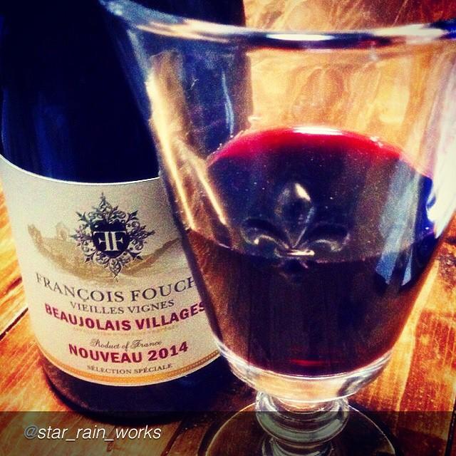 Nostalgia de beaujolais!! (Repost @star_rain_works)