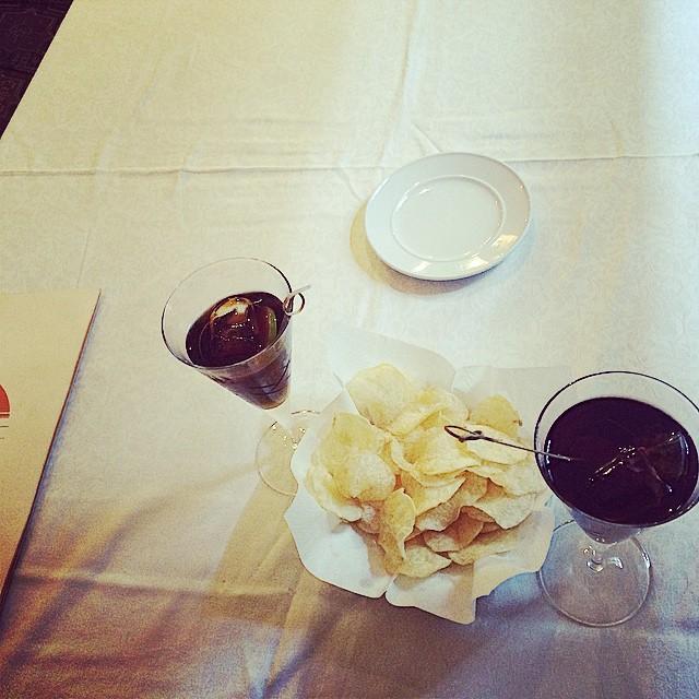 aperitivo en el belvedere barcelona victor amela y roser amills