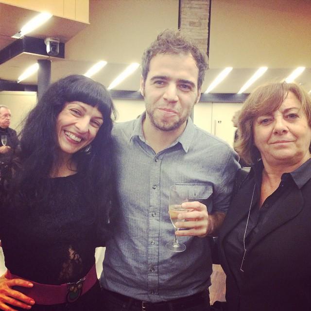 Con Jan & madre guapa @blackiebooks hemos pasado un muy buen rato #nitdeledicio2014 ;))