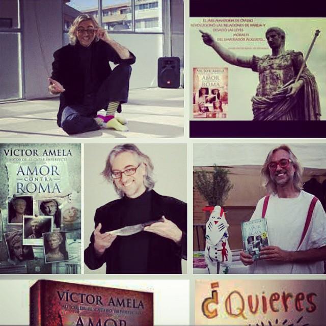 Te has leído ya #amorcontraroma ? Pues ya va siendo hora!!! La novela de moda de @victoramela :))