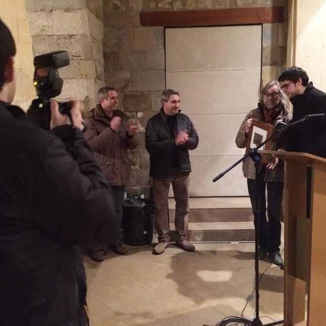 Premi Patronat de Turisme de Morella per a José Ferrer i per a @victoramela #trufamorella