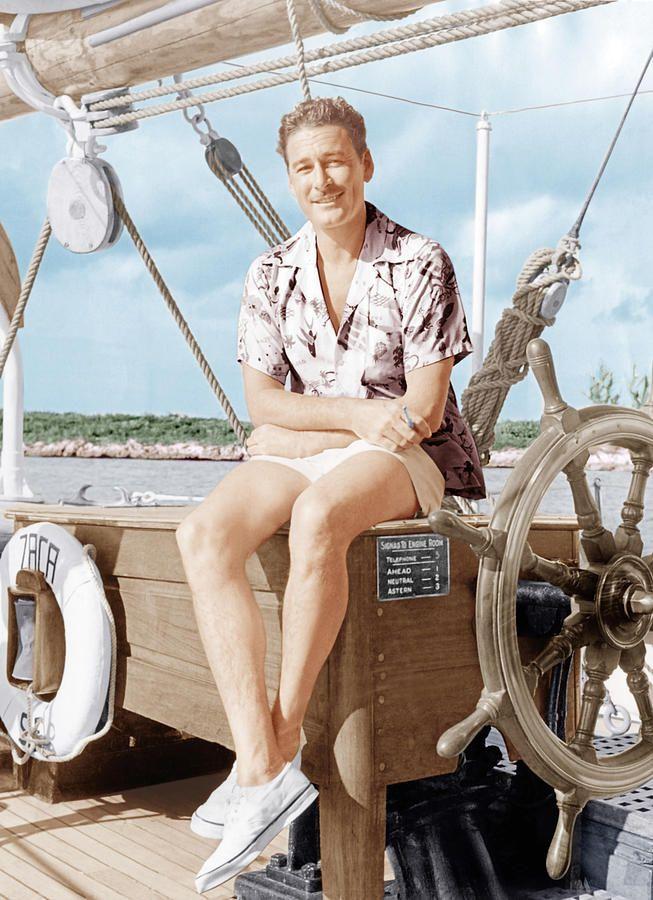 Errol llegó a Mallorca en 1950 por azar... y se quedó en la isla hasta 1959!