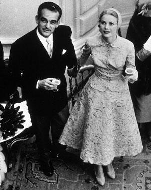 Grace kelly y rainiero de monaco en mallorca 1950