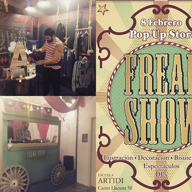 El #freakshow está abierto hasta las 16h