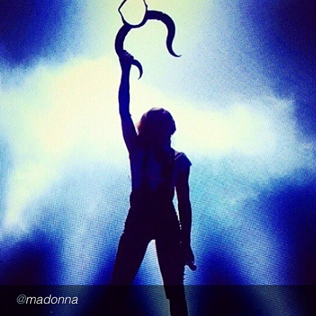 "Buenos días muy fan de #madonna ;)) by @madonna ""Loves Gonna Lift Me Up! ❤️#livingforlove"