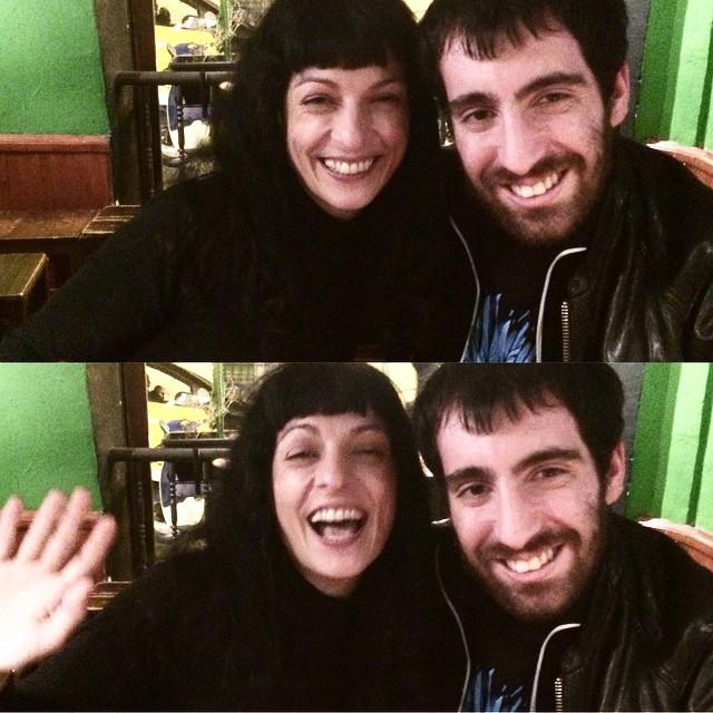 Yo movidita y @ostrestu muy sonrisa Ken ;))
