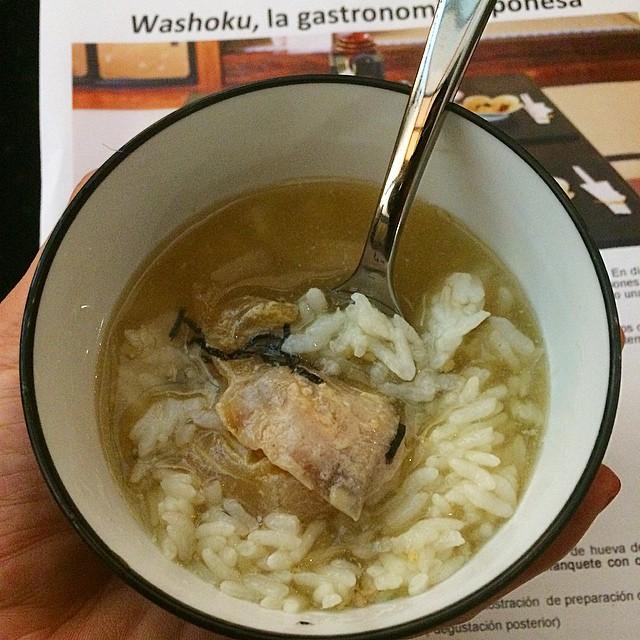 Y otro delicioso plato, #oshokuji a vuestra salud ;)) #Washoku #comerjapones