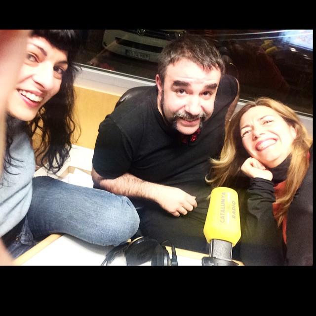 #posturessexuals i sentit de l'humor amb @carmesanchez i #joseplapidario a Catalunya Ràdio ;))
