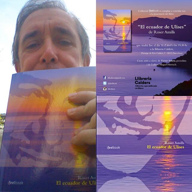 Manuel Pastor ha conseguido su ejemplar en Fnac l'Illa y mañana nos vemos en la presentación #elecuadordeulises