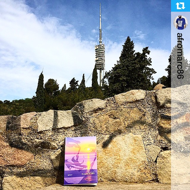 "Gracias Marc Alberola !!""Disfrutando de la naturaleza de Collserola con la compañía del #elecuadordeulises"" #ErrolFlynn #llegir #collserola #llibre #zaca #naturaleza #montaña #barna #bcn #barcelona #instamontaña #bondia #lalala #lerelerele #lirilirili #tuturuu #titiriti #goodmorning #primavera #spring #catalunya"