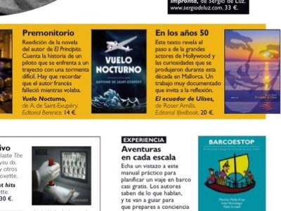 Gracias Belinda Guerrero por recomendar #elecuadordeulises en la revista DeViajes de junio #ErrolFlynn y #Mallorca para viajar a los años 50 ;))