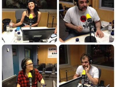 Ara a @catalunyaradio Avui bondage amb @JosepLapidario @ChiaraDiletto i @vaciatumente