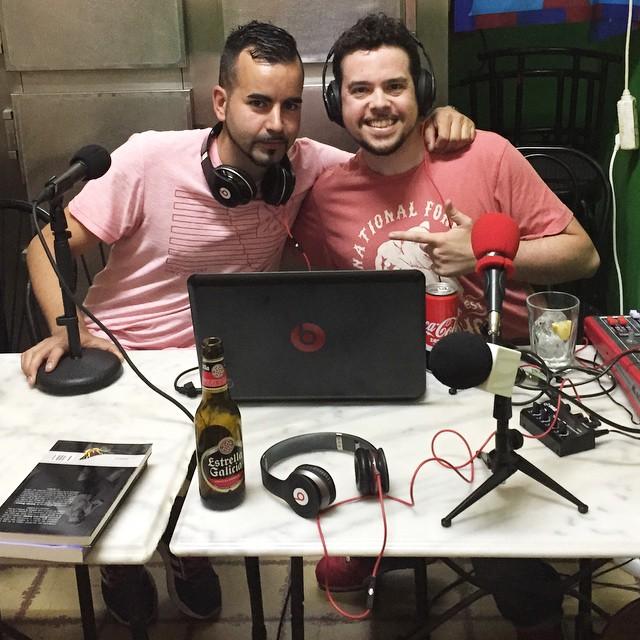 Ahora, en el #barVulcano, con @losdanko la vamos a liar ;))