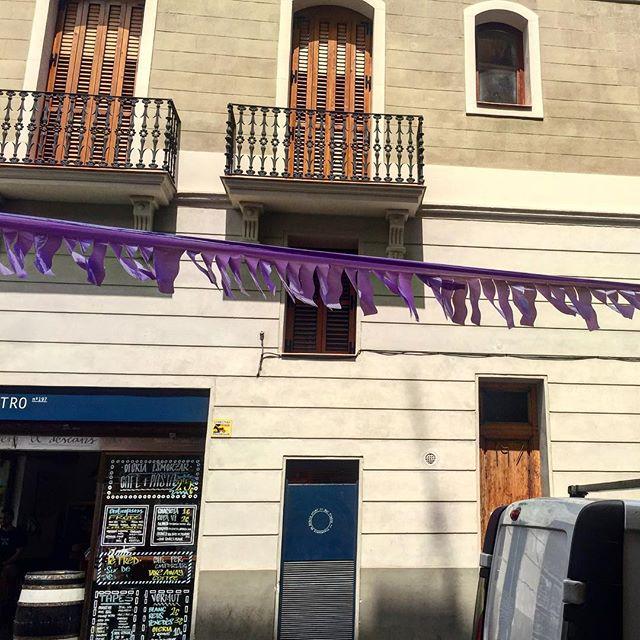 El barrio de Gracia es una fiesta :))