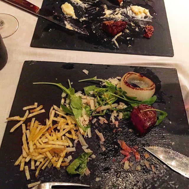 Sopar ben servit a #lapolpa amb el Lluis ;))
