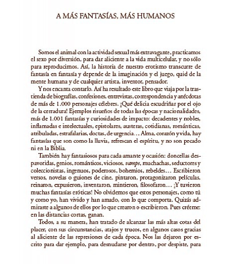 A más fantasias, más humanos (de mi libro #1001fantasiasmaseroticasysalvajes :))