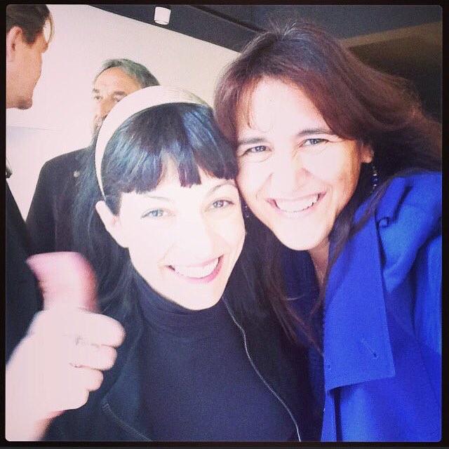 Meravellosa Laura Borràs, mil gràcies per ser-hi: el tribut a #MontserratAbello ha estat més intens amb la teva complicitat!!