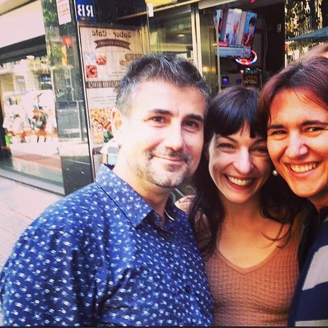 Amb na @LauraBorras i en @pepcerda junts a Barcelona= energia imparable!