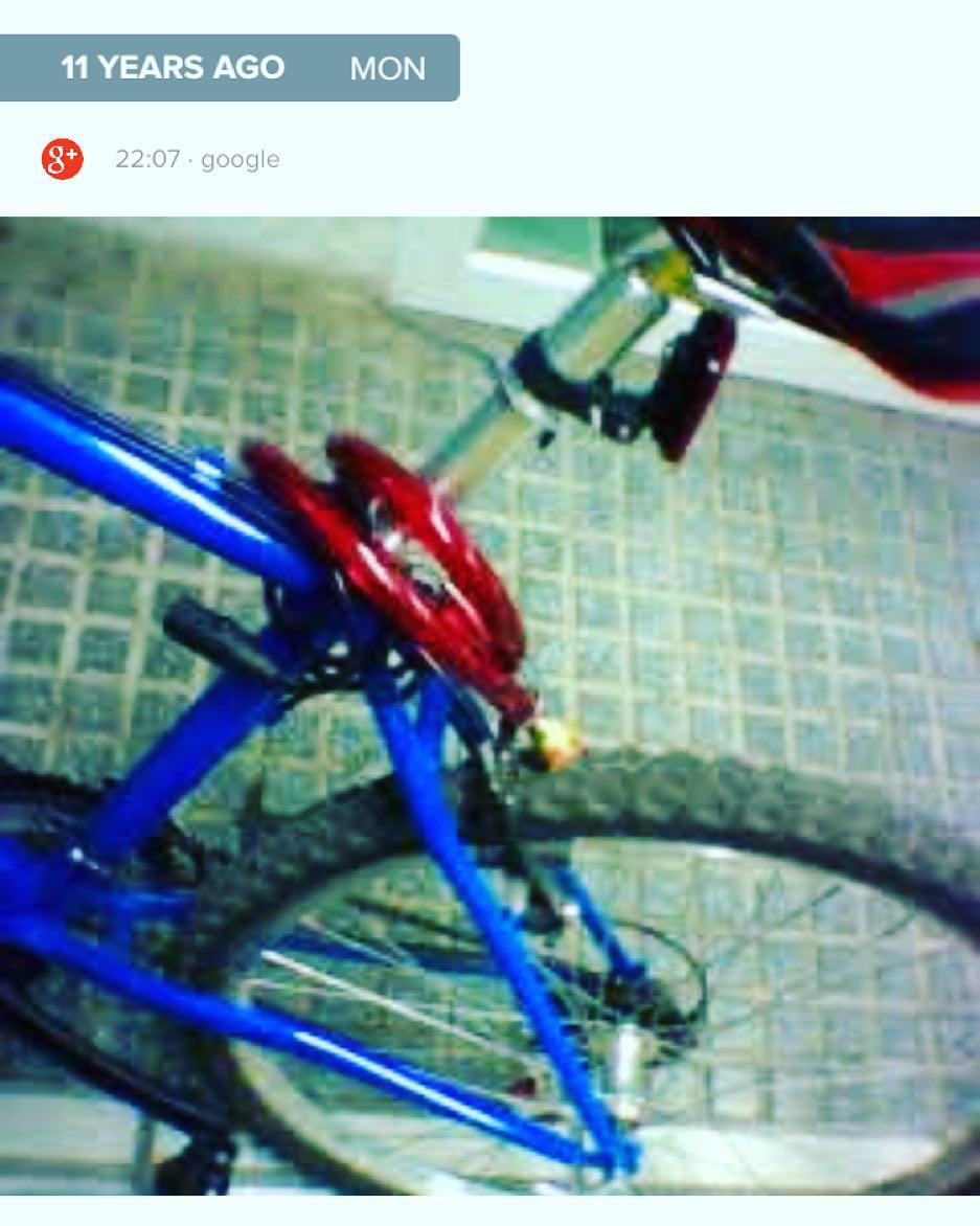 Tal día como hoy, hace 11 años, me robaron una bicicleta ;))