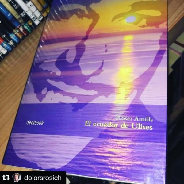 El ecuador de Ulises, novela de Roser Amills