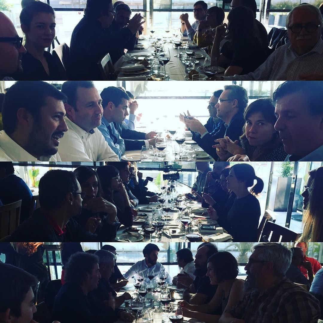 Mesas 2 @gruposagardi #buey2015 #txapeldun reconoces a alguien?