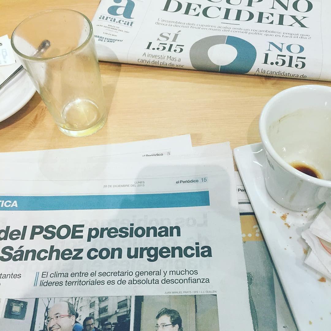 Comparar els diferents diaris avui és força entretingut ;))