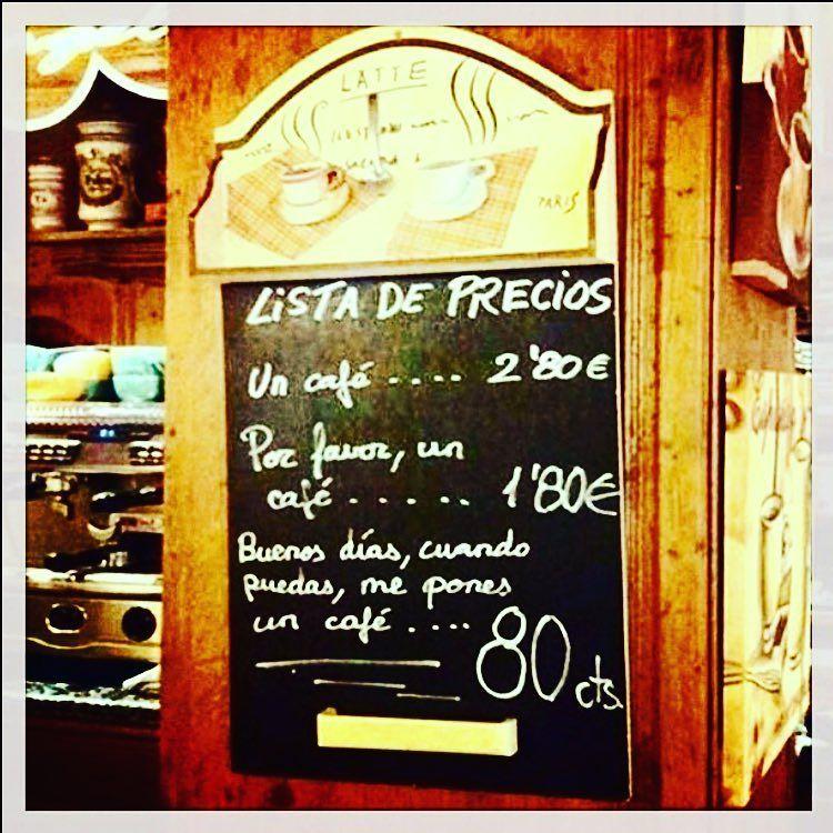 Todo tiene un precio ;)) #buenosdias