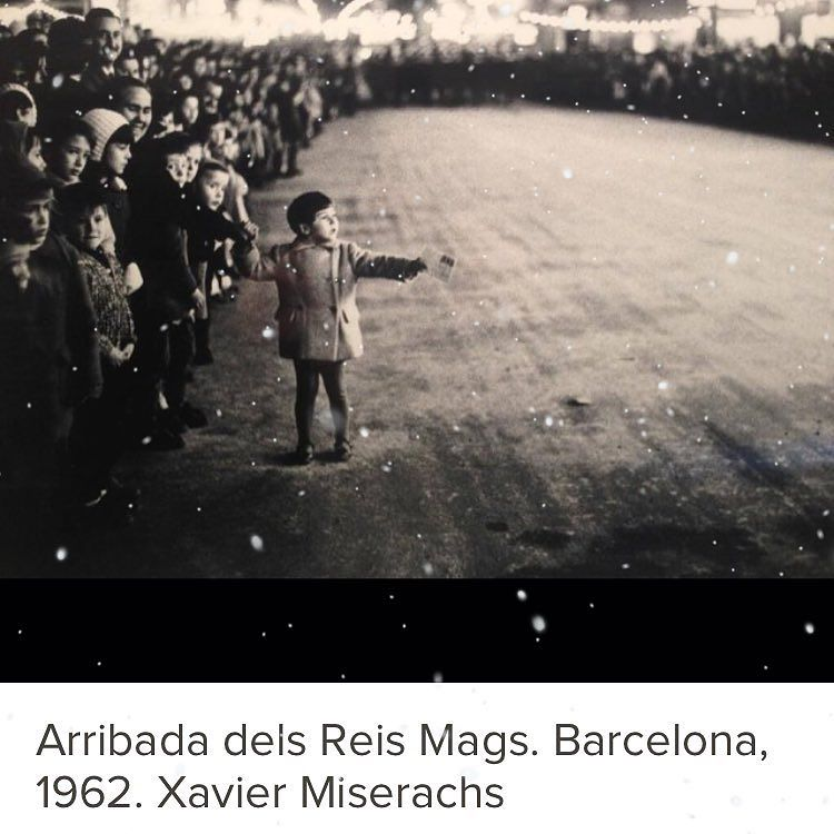 Arribada dels Reis Mags, 1962, Xavier Miserachs #cavalgata #cabalgata2016 #ilusion #reyesmagos2016 #barcelona