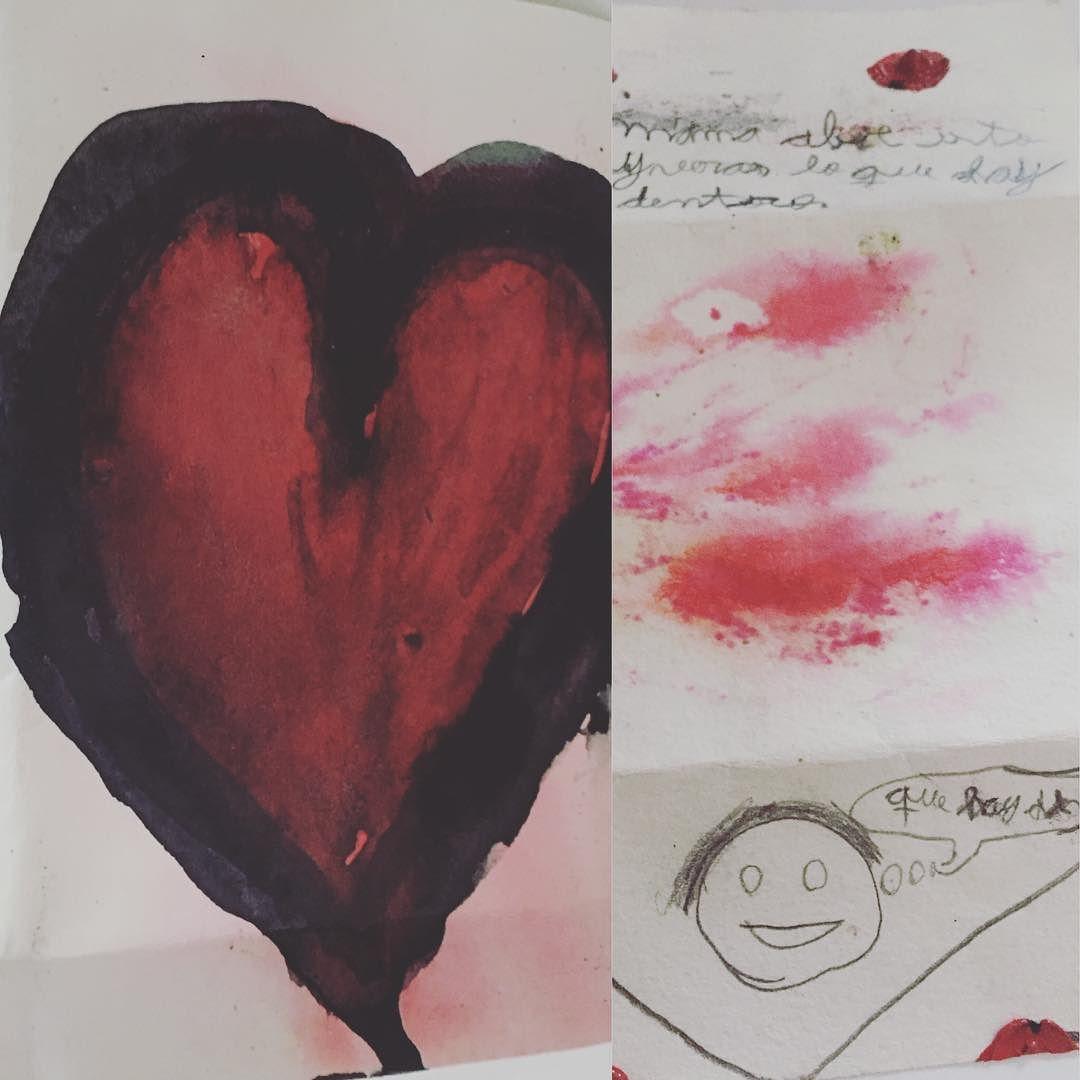 Hoy he recibido una carta con lacre y bonitos mensajes ;))