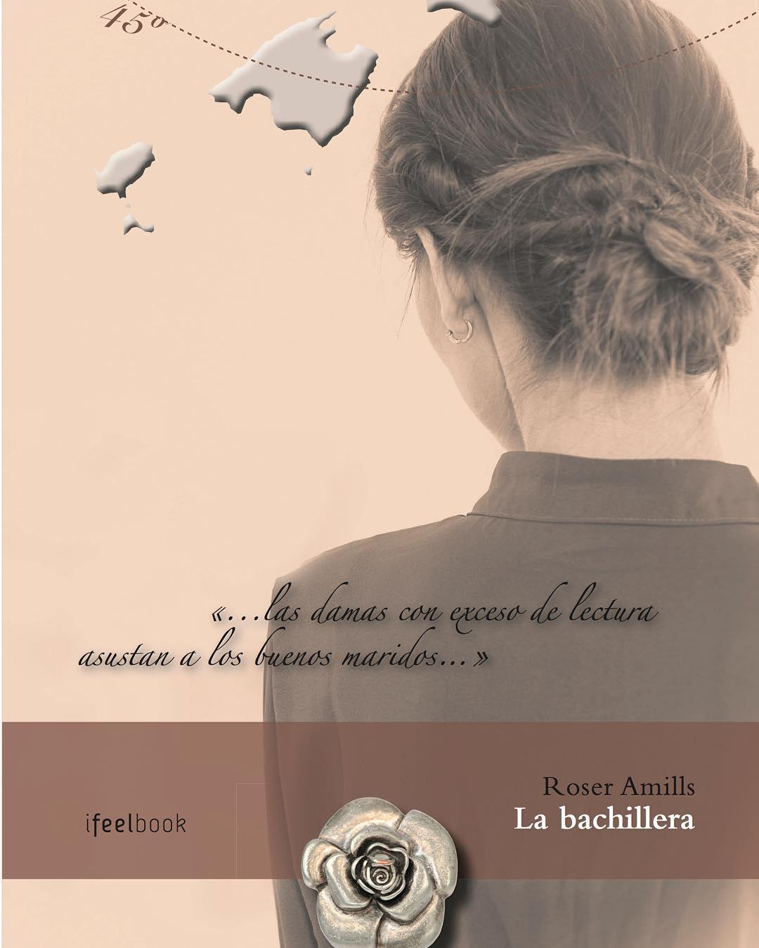 La Marta Mirosa ja té l'aparador preparat per presentar #labachillera a les 19:30h