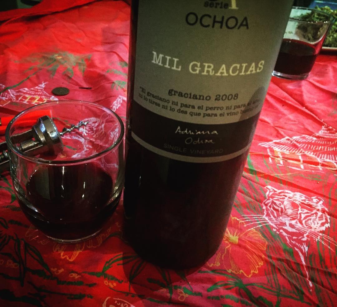 El graciano, ni para el perro ni para el amo, ni lo tires ni lo des que para el vino bueno es