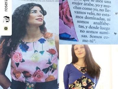 Con #joumanahaddad no sólo me unen un vestido y un cinturón: seamos insumisas