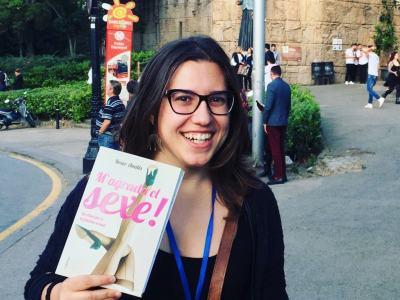 Bonica @laiatorello amb #magradaelsexe Gràcies!! #llibres #libro #books