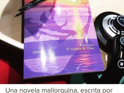 Viaja a Mallorca con Errol Flynn a tu lado: es hora de leer #elecuadordeulises :)) #escritora #mallorquina #algaida #palmademallorca #llibres