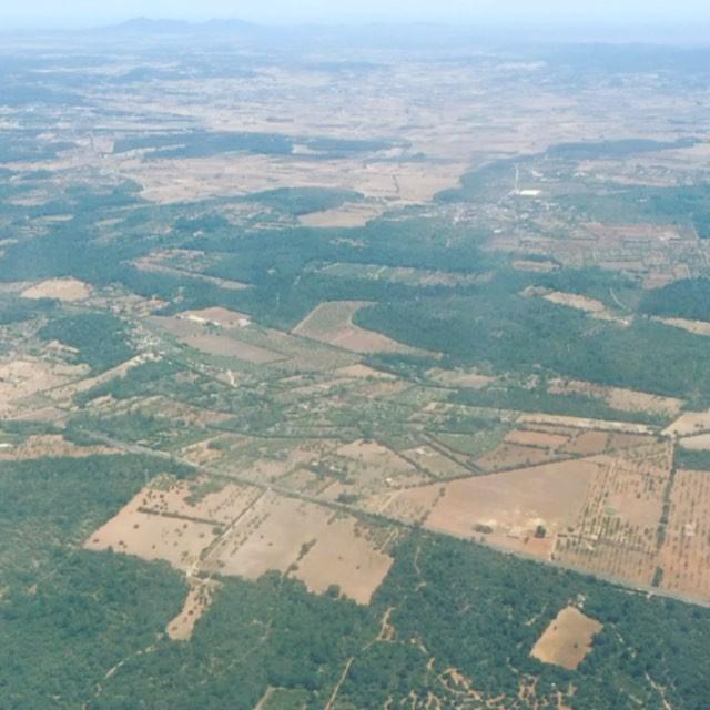 Hem arribat volant a #Mallorca ;))