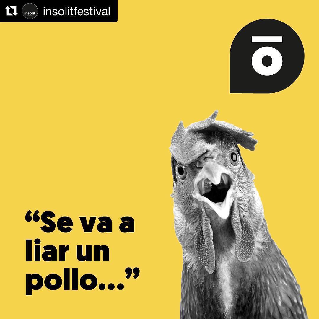 És un honor @insolitfestival !! ・・・Volem celebrar que ens segueix @roseramills amb aquesta imatge