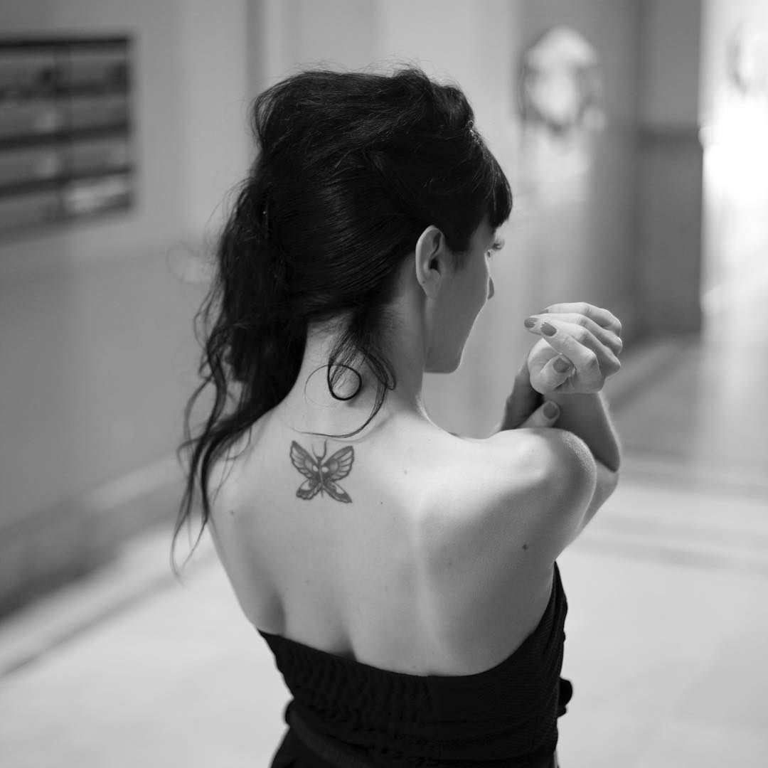 Foto de @guyaelbrecht, maquillaje de @cocolorete1 y tatuaje de @brass305 ;))