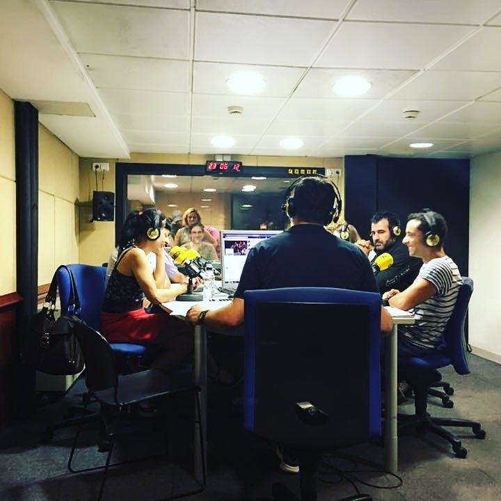 Engeguem #lanit31416 amb molta energia. Tenim molta nit per endavant. Escolteu-nos a @la_ser ara!!