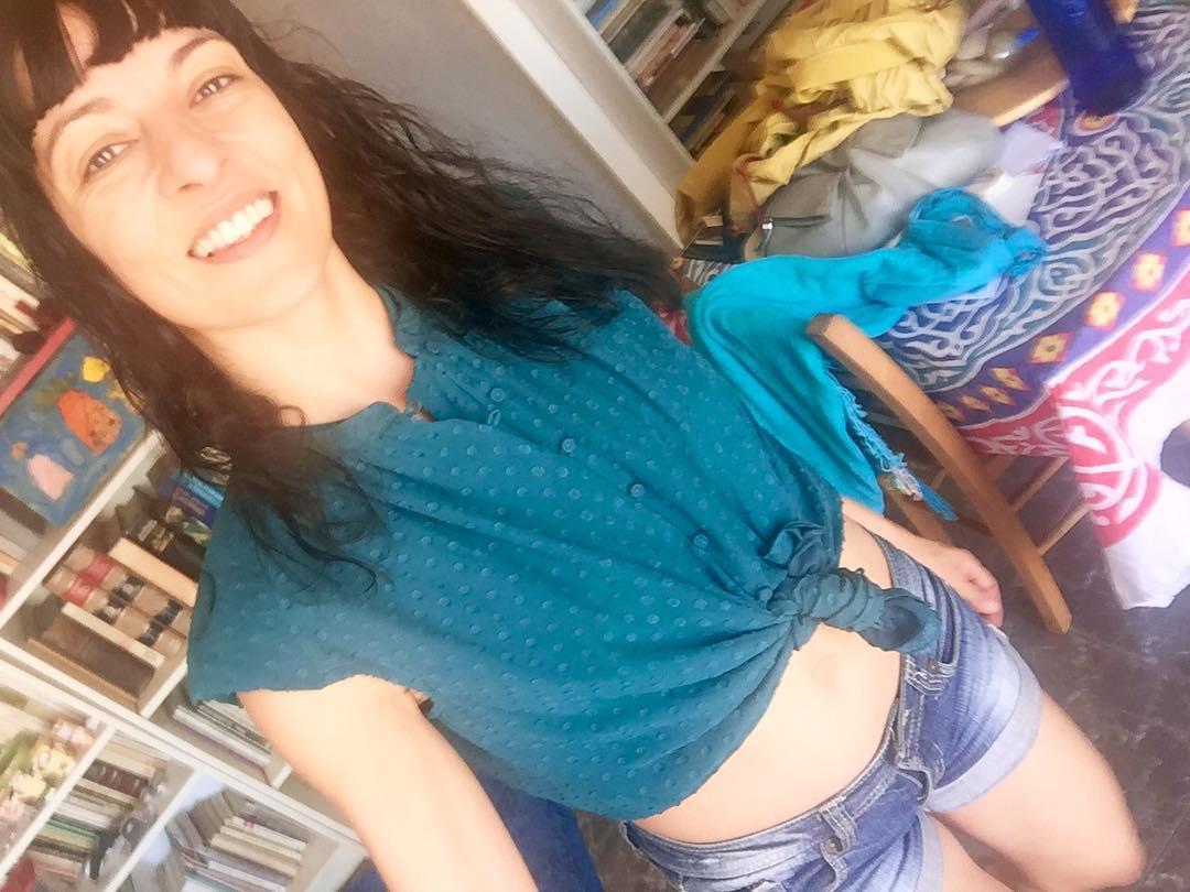 Os gusta el color de mi nueva blusa? Es colorMarco della Porta ;))