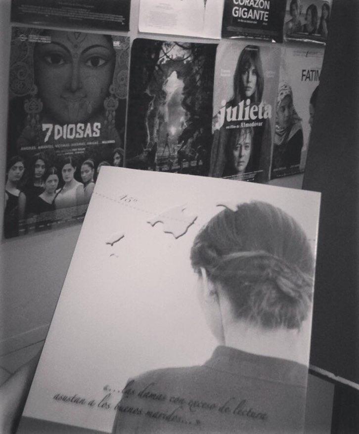 Gracias @dgmariamestre por ser tan bella lectora de #labachillera !!!